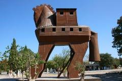 Trojanska hästen  Royaltyfria Bilder