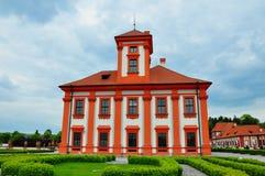 Trojapaleis, Troja, Praag, Tsjechische Republiek Royalty-vrije Stock Foto