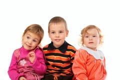 troje dzieci. zdjęcie stock