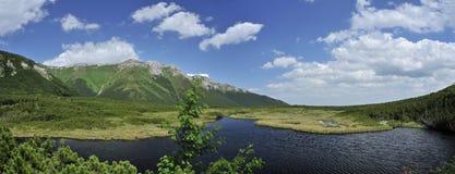 Trojrohe pleso, Dolina Bielych plies, Vysoke Tatry, Slovakia royalty free stock photography
