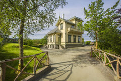 Troldhaugen, casa del compositore famoso Edvard Grieg a Bergen, Norvegia Immagini Stock
