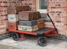 Trole da bagagem Fotografia de Stock