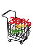 Trole da compra Fotos de Stock