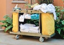 Trole das tarefas domésticas Fotografia de Stock