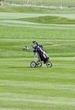 Trole de golfe Imagens de Stock