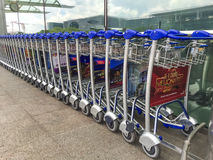 Trole do aeroporto Imagem de Stock Royalty Free