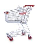 Trole do carro de compra Imagens de Stock