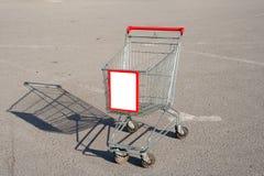 Trole do supermercado Imagem de Stock Royalty Free