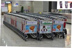 Troles da bagagem Foto de Stock
