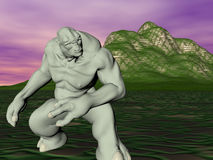 troll κίνησης απεικόνιση αποθεμάτων