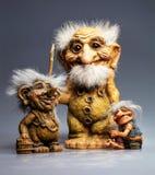 Troll παραδοσιακό αναμνηστικό από τη Νορβηγία Στοκ εικόνα με δικαίωμα ελεύθερης χρήσης
