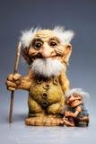 Troll παραδοσιακό αναμνηστικό από τη Νορβηγία Στοκ Φωτογραφίες