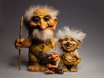 Troll παραδοσιακό αναμνηστικό από τη Νορβηγία Στοκ φωτογραφία με δικαίωμα ελεύθερης χρήσης