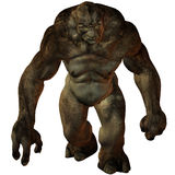 Troll-3D Fantasy Figure Stock Photography