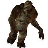 Troll-3D Fantasy Figure Stock Image