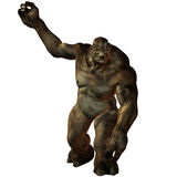 Troll-3D Fantasy Figure Royalty Free Stock Images
