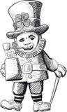 troll royaltyfri illustrationer