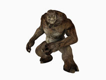 Troll. 3d render of a troll Royalty Free Stock Images