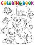 Troll 3 för färgläggningbok royaltyfri illustrationer