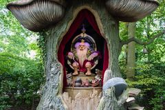 Troll king in theme park De Efteling in The Netherlands royalty free stock image