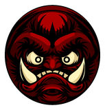 Troll or Monster Icon Emoticon Royalty Free Stock Images