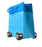 Troll Paper Bag Royalty Free Stock Photos