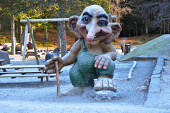 Troll playground Stock Images