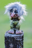 The Troll. Scandinavian Mythology Portrait Royalty Free Stock Images