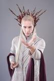 troll Thranduil Hobbiten Arkivbilder