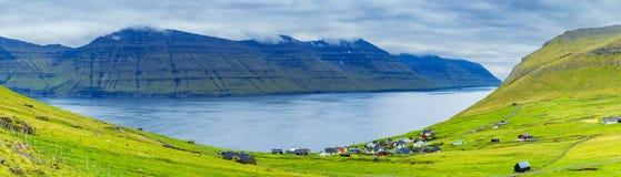 Trollanes Village, Kalsoy Island, Faroe Islands