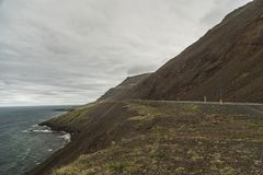 Trollaskagi Peninsula Coast stock photos