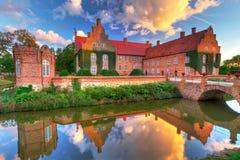 新生Trolle-Ljungby城堡 图库摄影