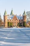 Trolleholm-Schloss im Winter Lizenzfreie Stockfotos