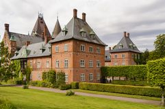 Trollenas-Schloss Lizenzfreie Stockfotografie