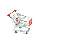 Trolley. On a white background Royalty Free Stock Photos