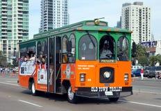 trolley Royaltyfri Fotografi