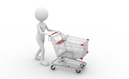 Trolley Royalty Free Stock Photos
