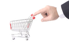 Trolley Royalty Free Stock Photography