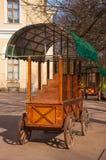 trolley Fotografering för Bildbyråer