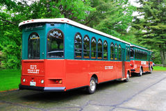 Trolley Acadia National Park Stock Photography