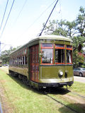 Trolley Cable Car. Trolley car on the New Orleans cable car system royalty free stock image
