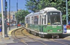 Trolley Car, Boston, Massachusetts Stock Image