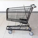 Trolley cart for shopping in supermaket Royalty Free Stock Image
