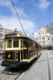 Trolley - Christchurch, New Zealand. This image shows a Tourist Trolley in Christchurch, New Zealand Royalty Free Stock Photo