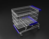Trolley isolated Royalty Free Stock Photos