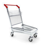 Trolley for luggage at the airport Royalty Free Stock Photo