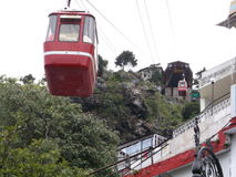 A trolley in Masoorie Royalty Free Stock Photography