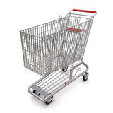 Trolley from the supermarket Stock Image