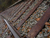 Trolley Track 2 Stock Photos