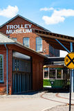 Trolley at Trolley Museum royalty free stock images